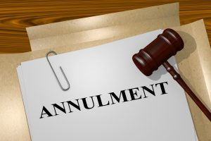 requirements needed for annulment