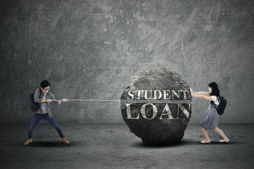 students loan burden